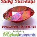 Ruby Tuesdays: A Mighty Woman (part four)…